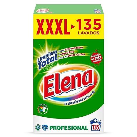 Elena Detergente Polvo Profesional Formato ahorro - 135 lavados ...