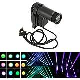 Lixada ステージライト 90-240V 15W 6チャンネル DMX512対応 サウンドコントロール  オートモード RGBW(赤・緑・青・白) ディスコ / 舞台 / 演出 / 照明 / スポットライト