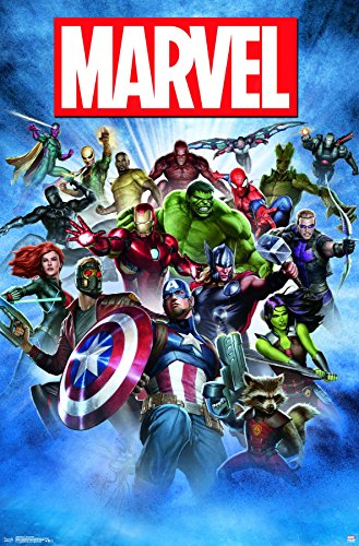 Trends International Marvel-Group Shot Premium Wall Poster,