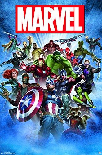 Trends International Marvel-Group Shot Premium Wall Poster,