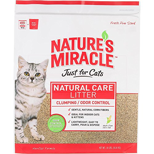 Nature S Miracle Just For Cats Corn Cob Cat Litter