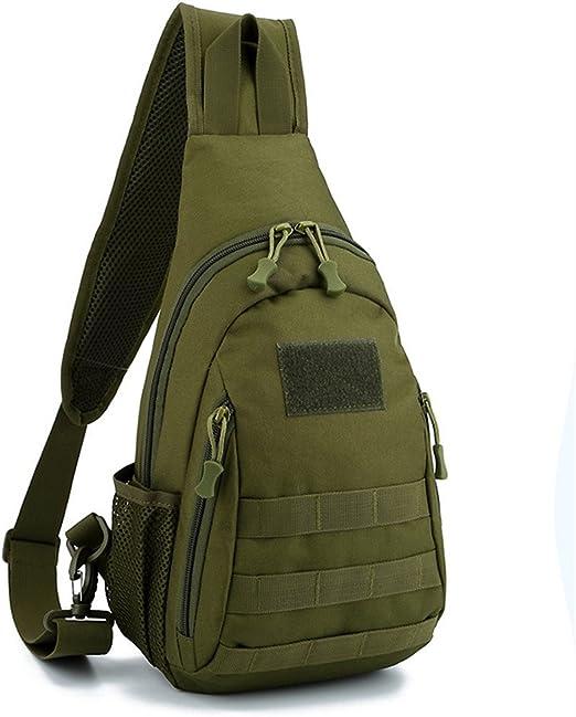 Sumferkyh Bolso de la Honda Sling Pack Sport Bags Bandolera en el Pecho Desequilibrio Gym Fanny Bag Satchel Backpack para Hombres Mujeres Ciclismo al Aire Libre Sender (Color : Verde): Amazon.es: Hogar