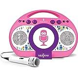 Singing Machine iSM398PP Karaoke, Rosa/Viola