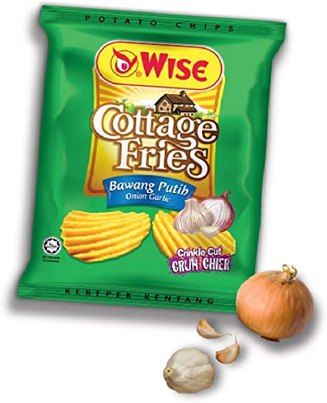 Wise Cottage Fries Potato Chips 65g 628mart Onion Garlic 12 Packs Amazon De Drogerie Korperpflege