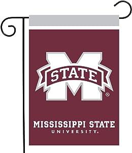 "Briarwood Lane Mississippi State Bulldogs Garden Flag NCAA Licensed 12.5"" x 18"""