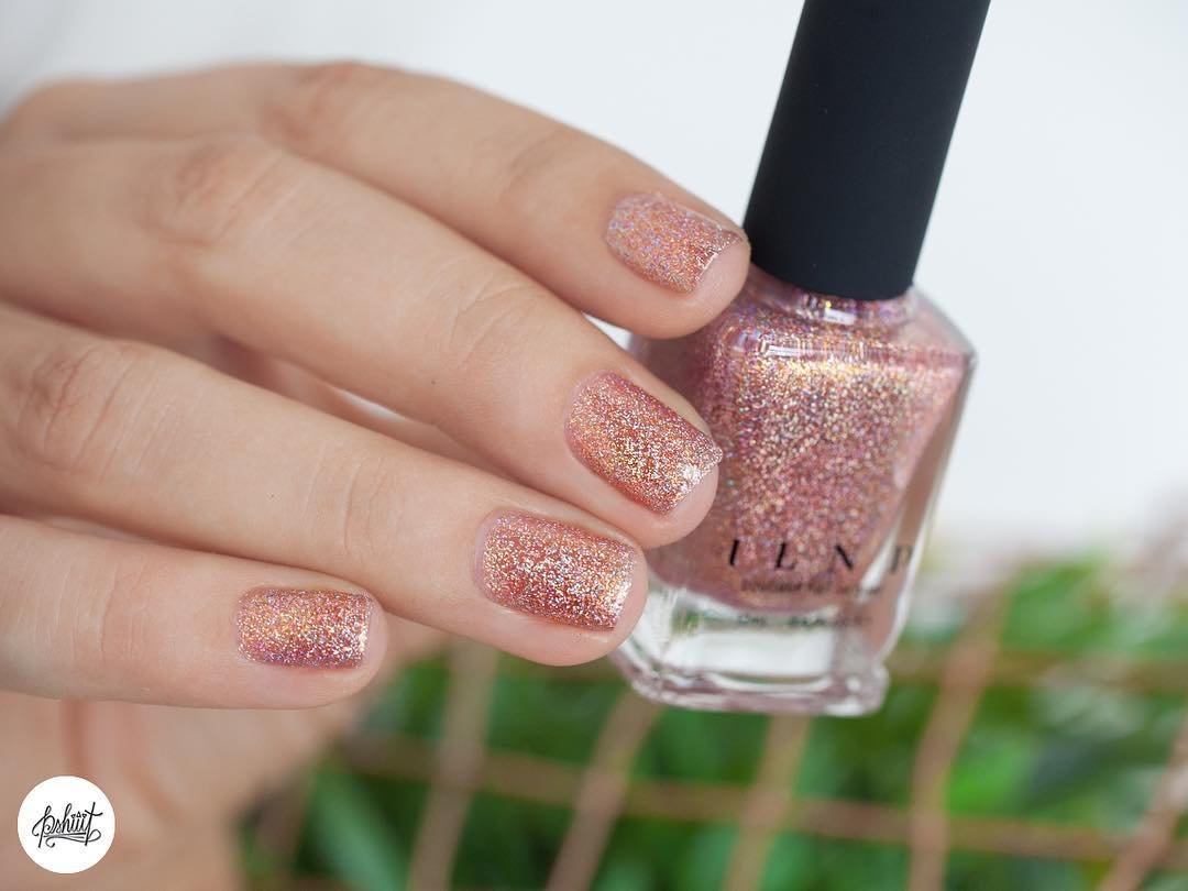 Amazon Com Ilnp That Other Girl Rose Gold Ultra Holographic Nail