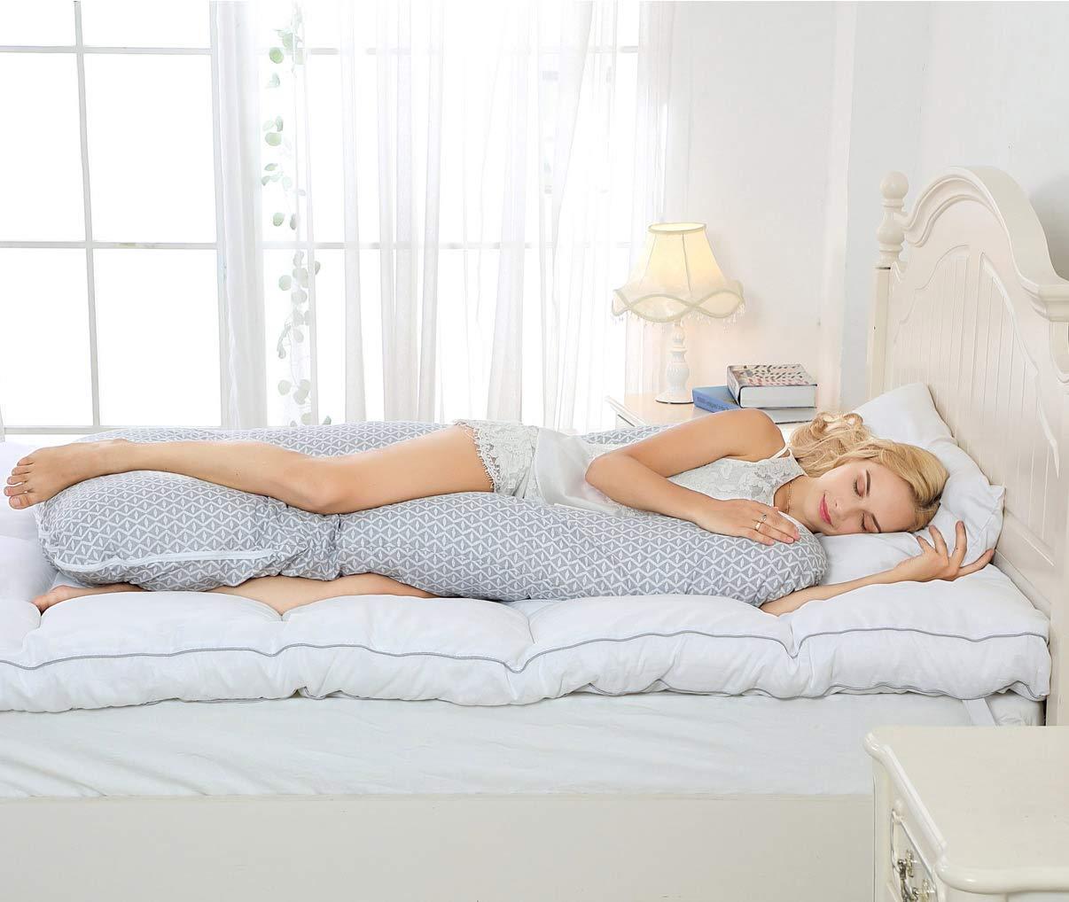 E by design PGN722BL44IV5-20 20 x 20-inch Wood Stripe Geometric Print Pillow 20x20 Blue