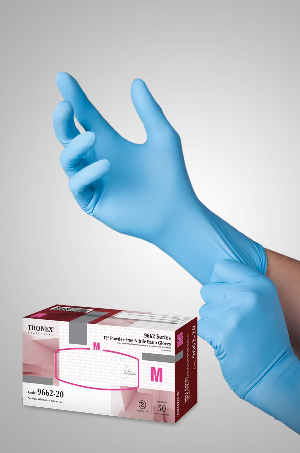 Tronex Chemo-Rated Fully Textured Nitrile Exam