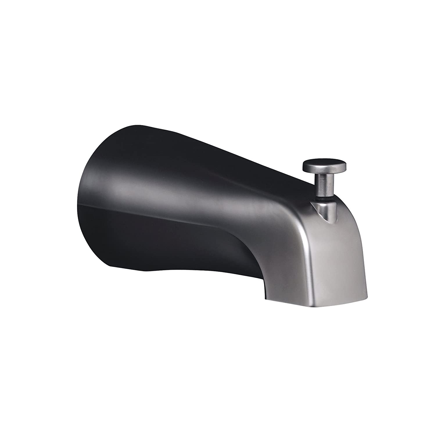 in spout diverter non with chrome slip p tub connection moen fit