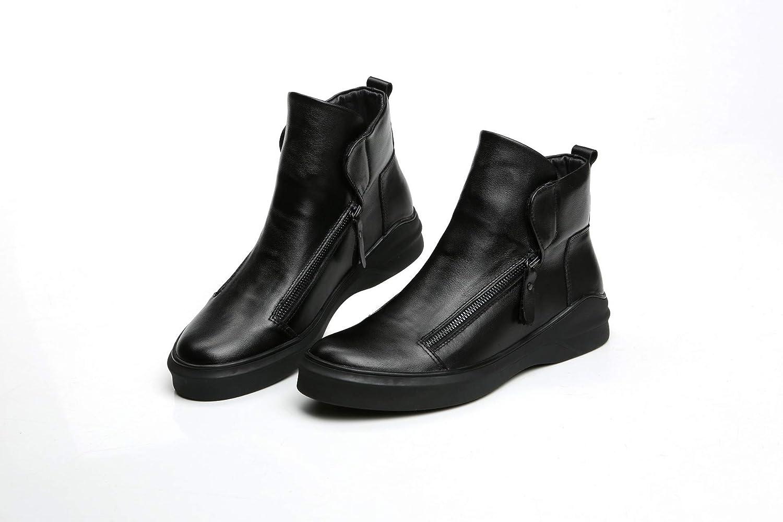 Shukun Herren Stiefel Hohe Schuhe Herrenschuhe Hohe Schuhe Herren Casual