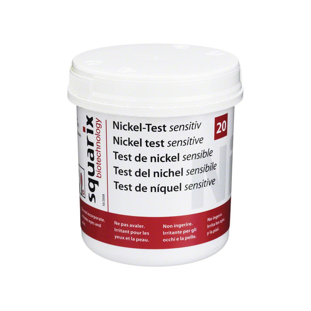 NICKEL Test sensitiv 20 St Teststäbchen: Amazon.de: Drogerie ...