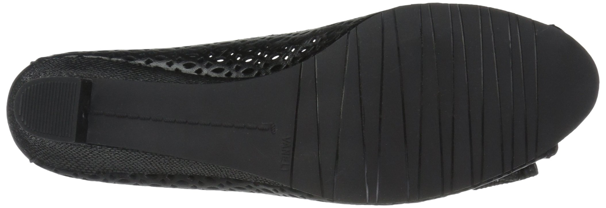 VANELi Women's Brinly Wedge Sandal, Black Perfed Nappa/Black Summer VIP, 9.5 N US by VANELi (Image #3)