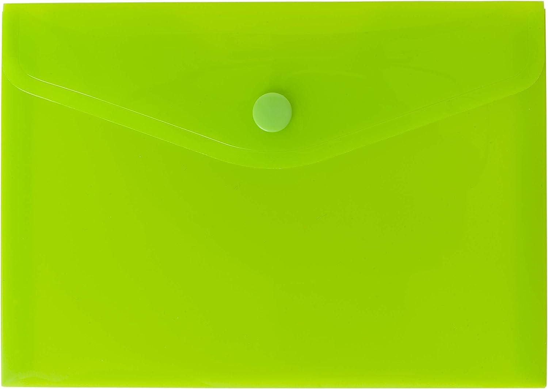 Confezione da 25 Ecoeco A6 50/% Riciclato Colore Bottoni a Bottoni