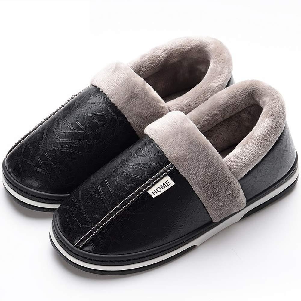 Asifn Pantofole Uomo Donna Casa Antiscivolo Peluche Scarpe Inverno ... 0bbd40ba314
