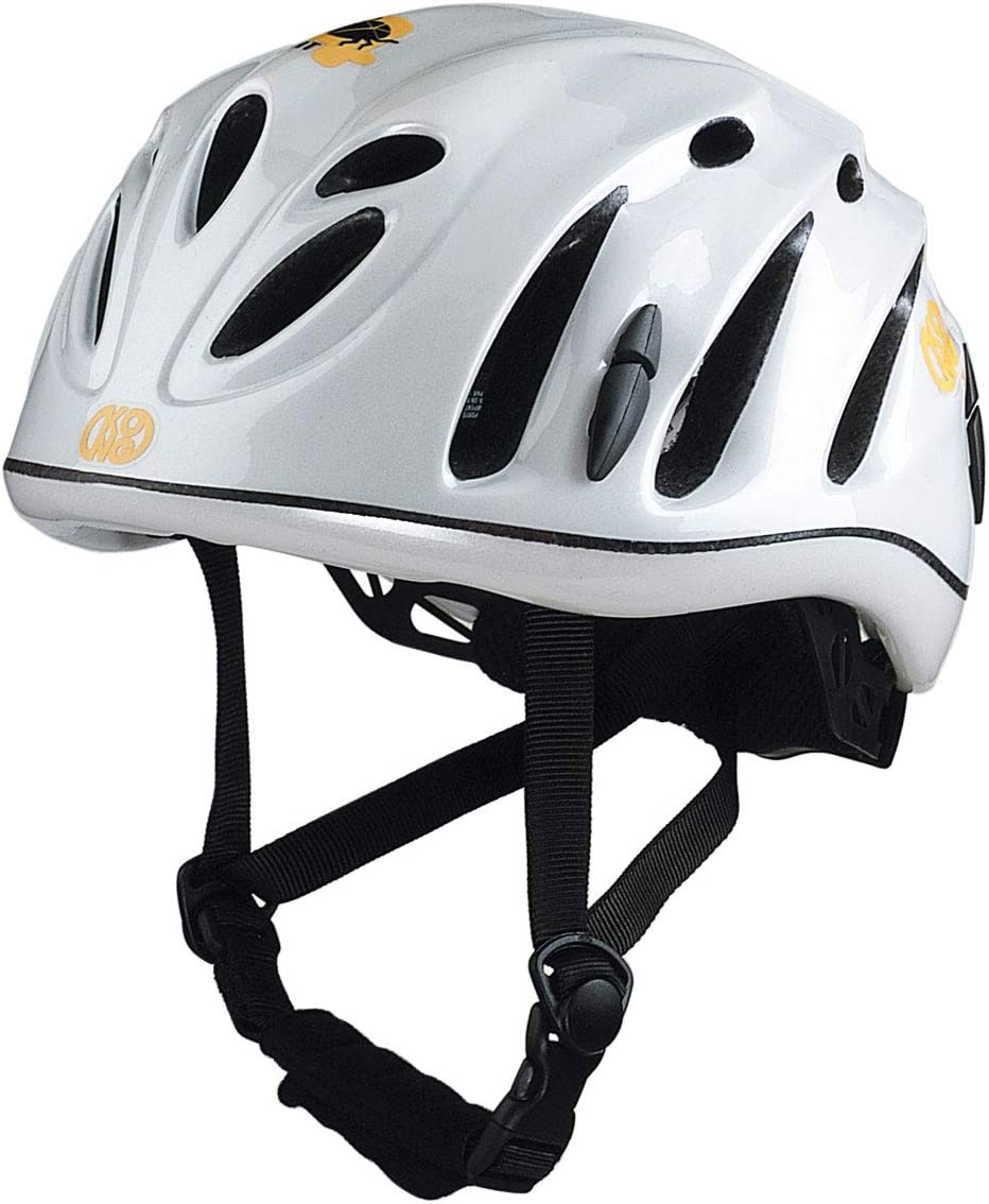 Kong Hi de Tek Escalada/bicicleta casco, Weiss: Amazon.es ...
