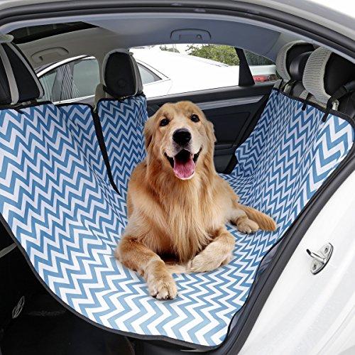 Xujw-pet, Protector de Asiento de Coche para Perro a Prueba de Agua y Asiento de Coche Barrera de Asiento para Perros Gatos...