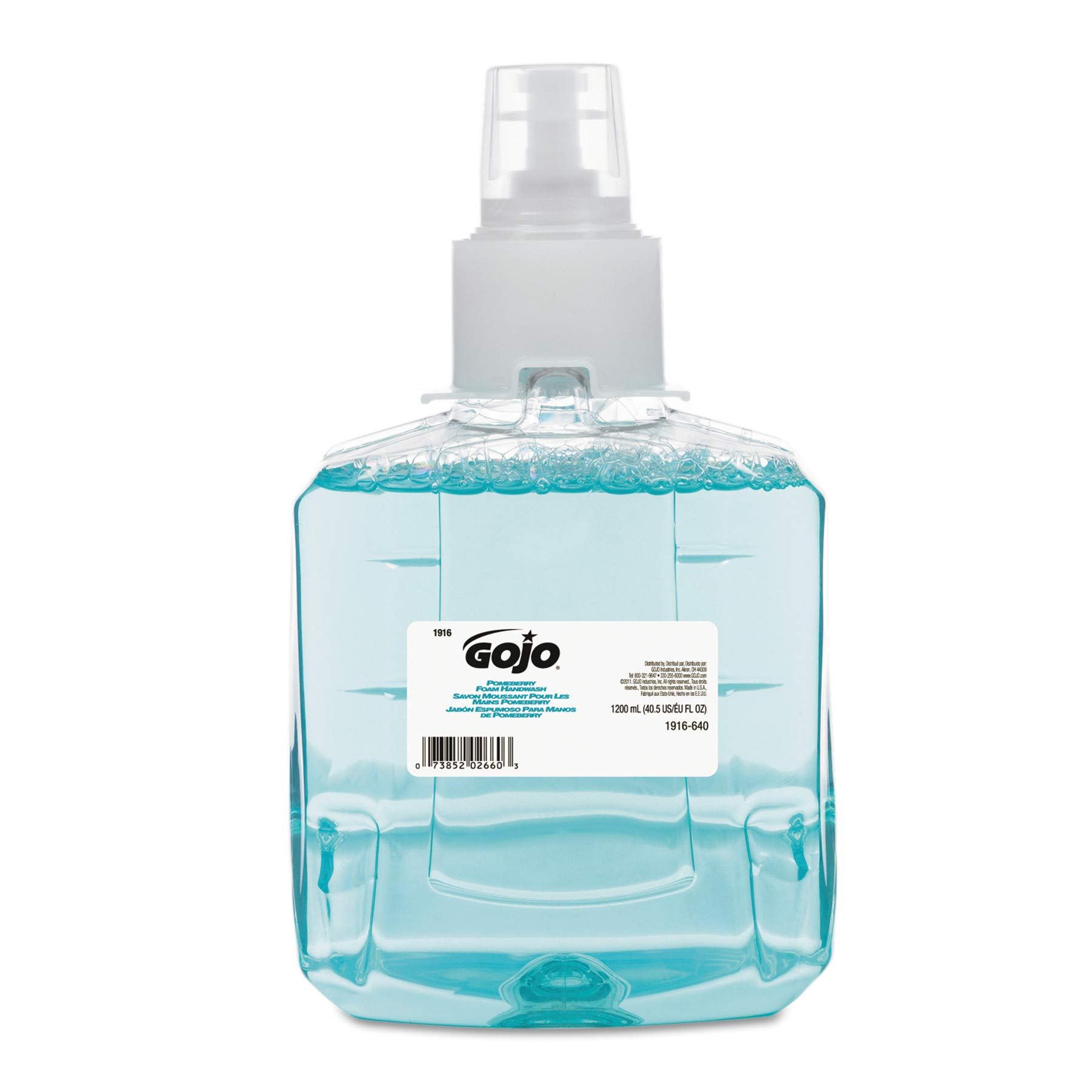 GOJO 191602CT Pomeberry Foam Handwash Refill, Pomegranate, 1200mL Refill (Case of 2) by Gojo