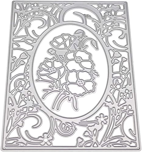 Lattice Metal Die Cuts Cutting Dies Cut Stencils for DIY Scrapbooking Photo Album Decorative Embossing Paper Dies for Card Making Template