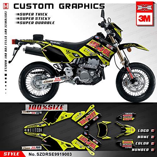 Kungfu Graphics Lucas Oil Custom Decal Kit for Suzuki DRZ400