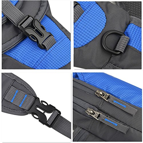 MALEDEN Sling Bag, Water Resistant Outdoor Shoulder Backpack Chest Pack Crossbody Bags for Women and Men Causal Daypacks for Hiking Cycling and Travel