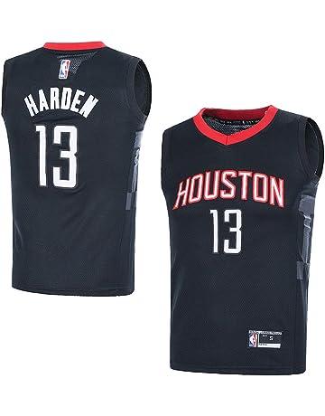 5e0af5135e474 Outerstuff Youth NBA 8-20 Houston Rockets  13 James Harden Swingman Jersey  Black