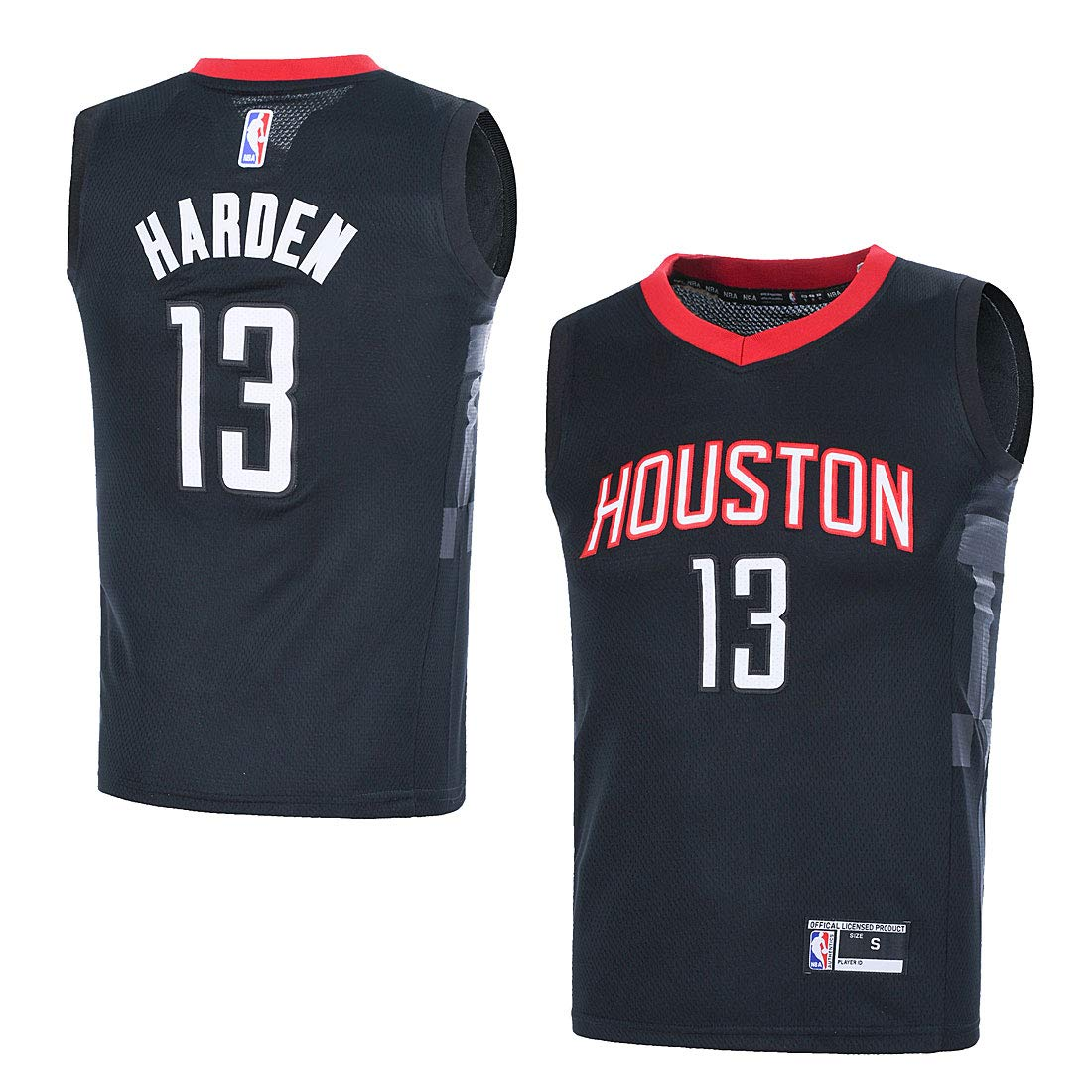 huge selection of 662fd 0dc42 Outerstuff Youth NBA 8-20 Houston Rockets #13 James Harden Swingman Jersey  Black