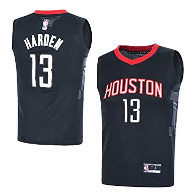 huge selection of 43ad5 6e69b Outerstuff Youth NBA 8-20 Houston Rockets #13 James Harden Swingman Jersey  Black