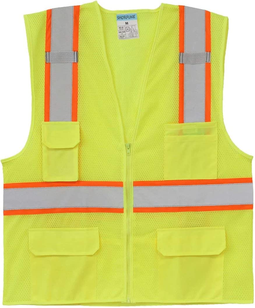 Small Product Image of SHORFUNE High Visibility Safety Vest