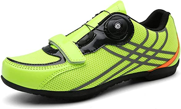 LY CROWM Zapatillas de Ciclismo de Carretera para Adultos Unisex ...