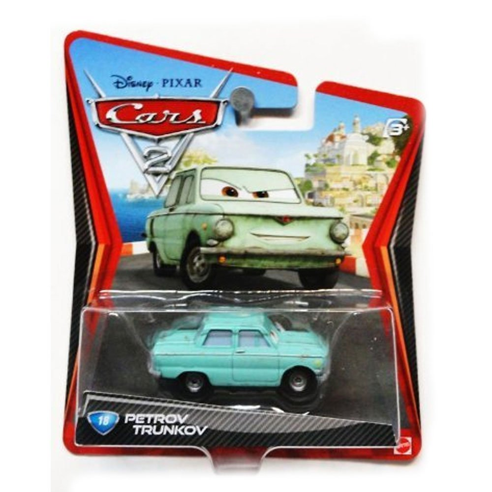 Disney Cars 2 Petrov Trunkov #18 Toy Zany V2818