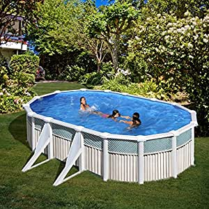San Marina Pools - Piscina De Chapa Capri 610 X 375 X 120 Cm + ...