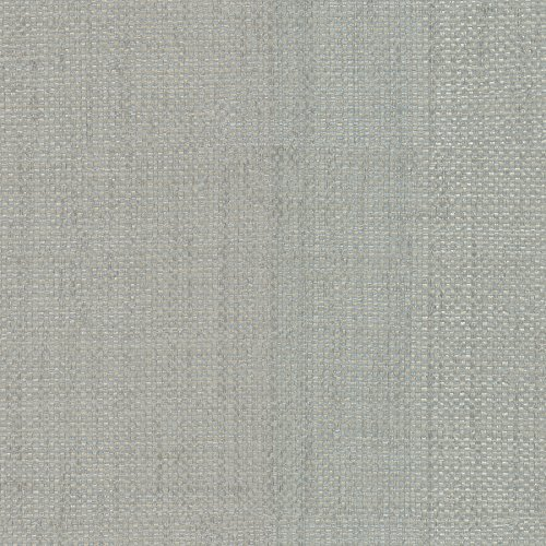 Warner 2758-87904 Caviar Grey Basketweave Wallpaper,