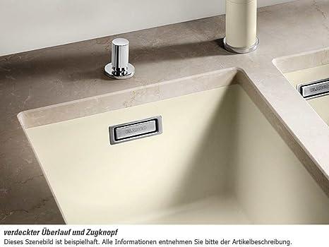 Spülbecken granit braun  Blanco Subline 700-U Cafe Granit Braun Küchenspüle Spülbecken ...