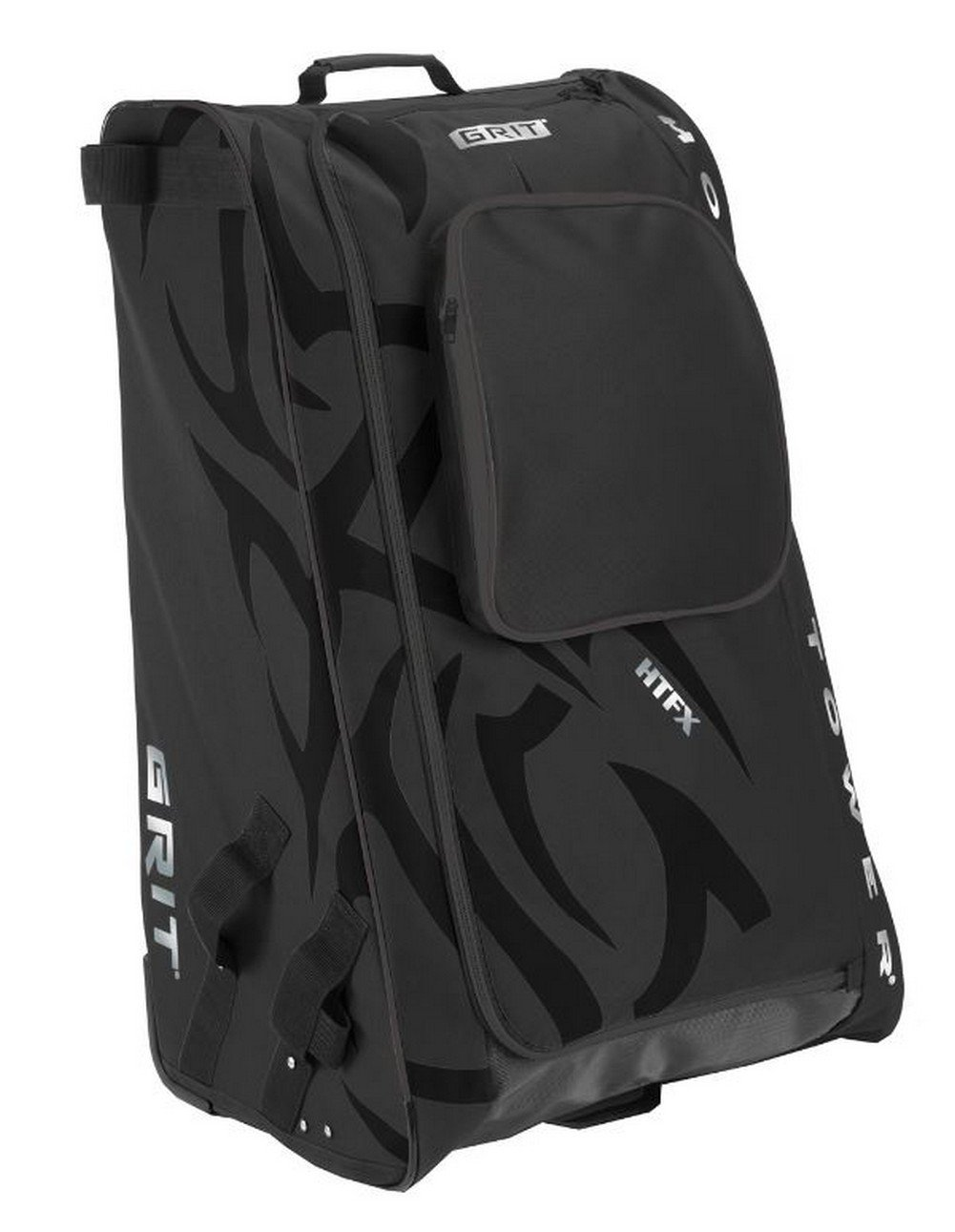 Grit Inc HTFX Hockey Tower 36'' Wheeled Equipment Bag Black HTFX036-B (Black)
