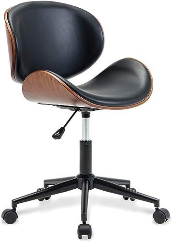 BELLEZE Mid-Century Swivel Office Computer Task Executive Desk Chair w/Adjustable Height