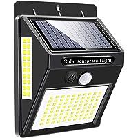 Luz Solar Exterior 120 LED, Mewtwo Focos Led Exterior Solares con Sensor de Movimiento Impermeable Ángulo 180º de…