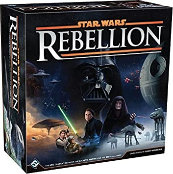 Star Wars: Rebellion Board Game: Fantasy Flight Games: Amazon.es ...