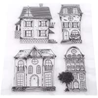 Clear Clear Stamp Set Scrapbooking Stampo House Silicone PVC Voor DIY Creative Hobbies Decoration Gift Christmas Child
