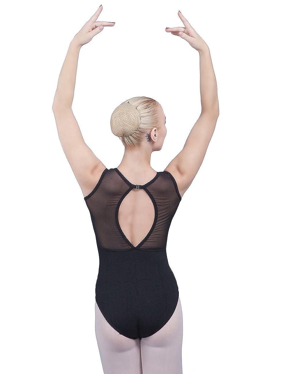 Dance Favourite Leotards for Womens and Girls Gymnastics Black 01D0048