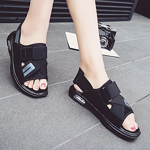 De De Salvaje Confort Sandalias Al Playa Zapatos para Hombres Blackgray De Moda De Verano x0TTgwdHq