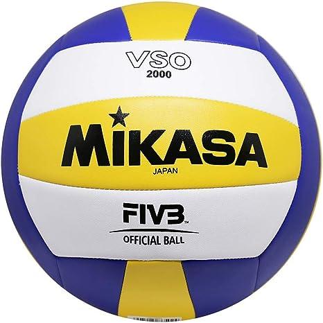 MIKASA VSO-2000 Balón de Voleibol, Adultos Unisex, Azul/Amarillo ...