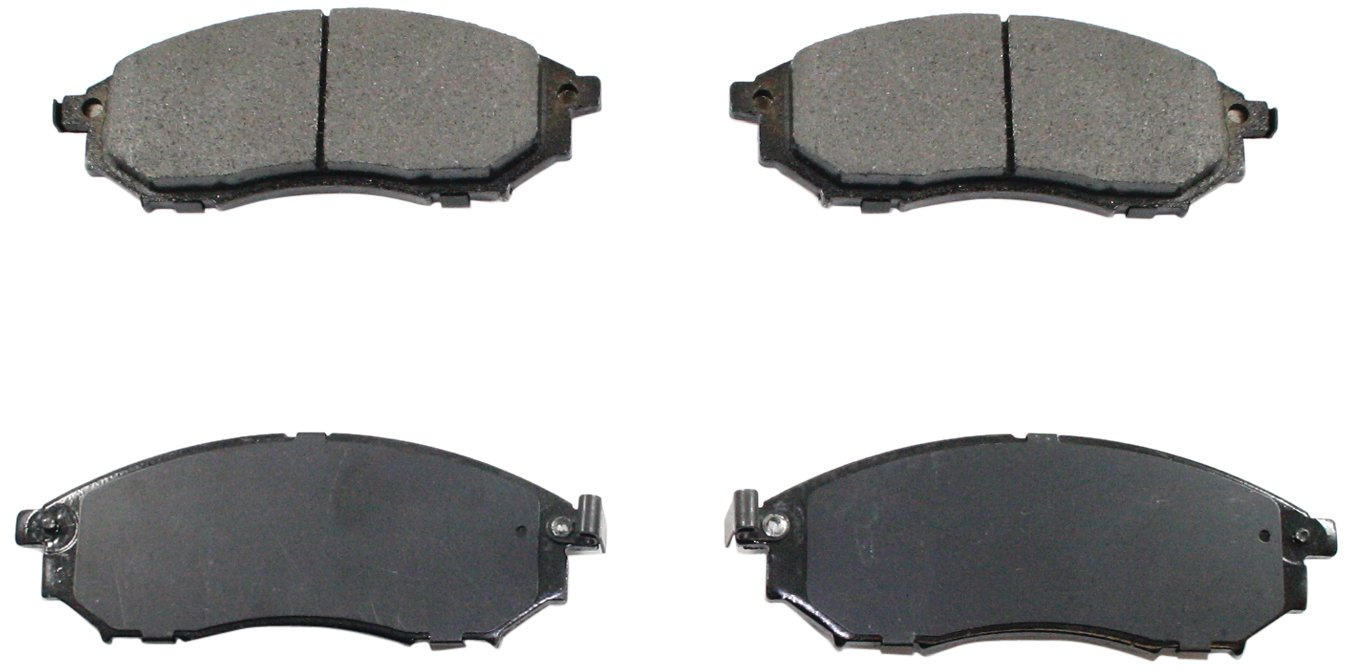 DuraGo BP888 C Front Ceramic Brake Pad Dura International BP888C