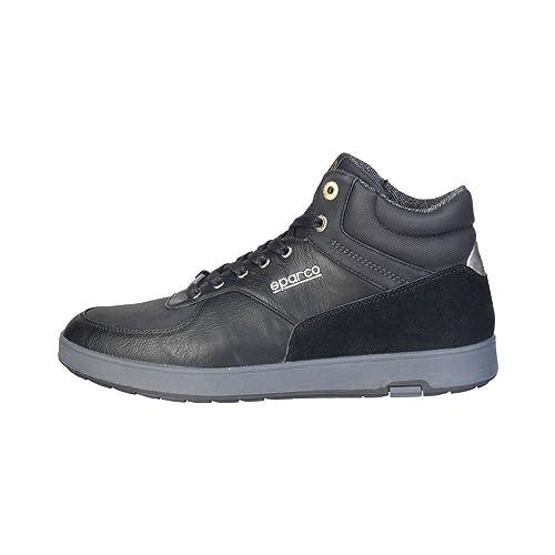 a24abd67a8 Sparco Scarpe Basse Sneakers Uomo Nero (Essen)