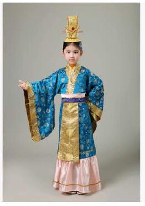 Pescado Traje de Cosplay para niños niño túnicas de Emperador ...
