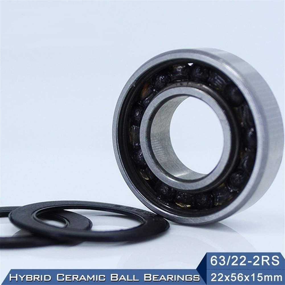 1PC Race Bike Front Rear Wheel Hybrids Si3N4 Ball Bearings SUOFEILAIMU-PHONE CASE Durable Bearing 63//22 63//22RS 63 22 2RS Hybrid Ceramic Bearing 225615 mm