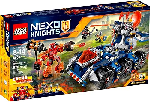 LEGO Nexo Knights Axl's Tower Carrier 66547 by LEGO (Image #4)