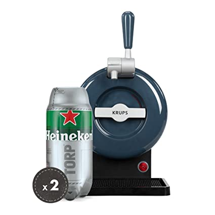 Pack Heineken THE SUB | Tirador de cerveza de barril THE SUB Grey Edition + 2