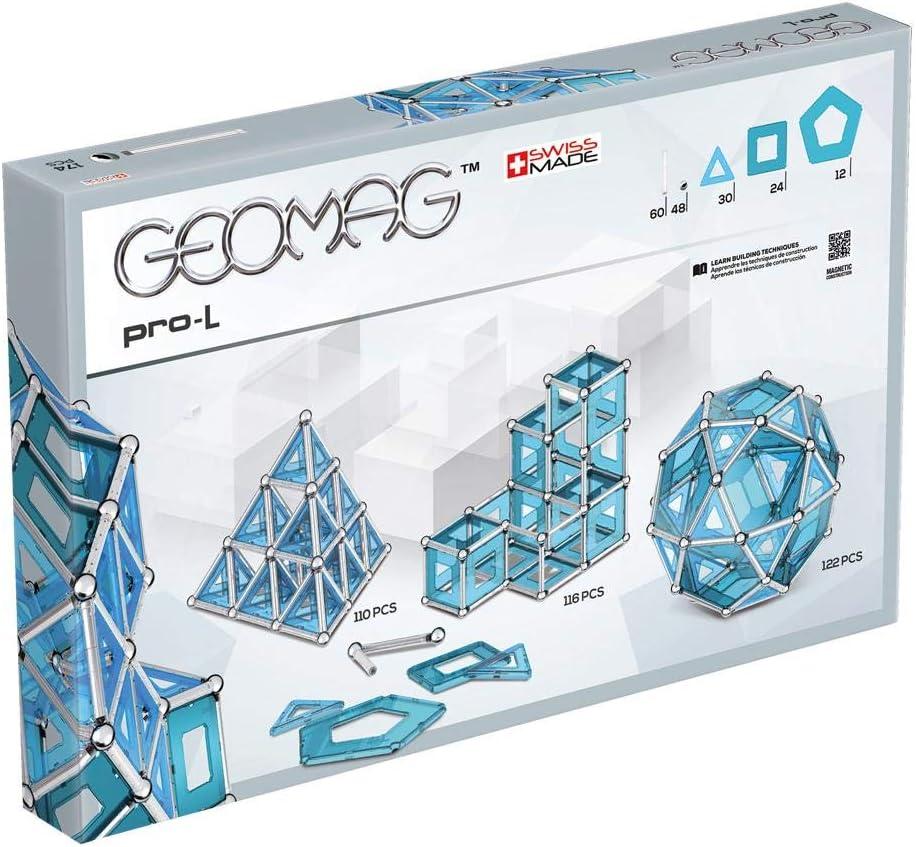 Geomag Pro-L Construcciones magnéticas y juegos educativos, 53 Piezas (Geomag , 40), Multicolor: Amazon.es: Juguetes y juegos