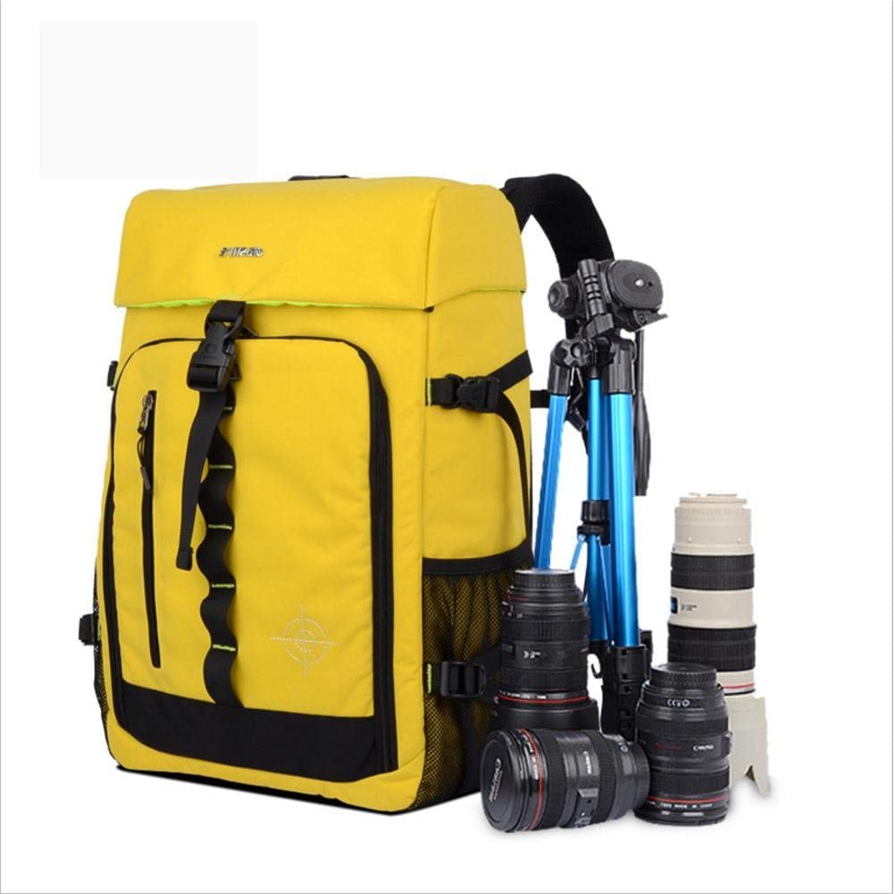 Camera bag Large Capacity Multi-function Waterproof Gadget Camera Bag Professional Gear Photography Travel Backpack Rucksack With Inner Padding for Cameras,Lenses Flashes and Other Accessories