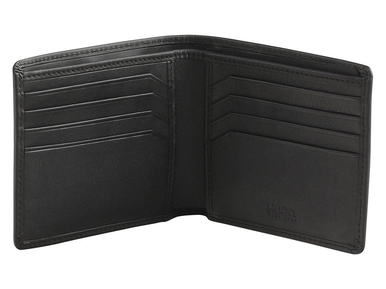 Hugo Boss Mens Statement Reverse Logo Genuine Leather Wallet